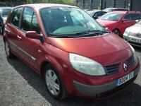RENAULT SCENIC 1.9 DYNAMIQUE DCI 5d 120 BHP (red) 2004