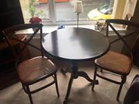 Ancient Mariner Table and 2 Chairs