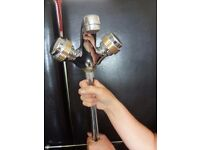 Unused Chrome Mixer Tap with pop up waste