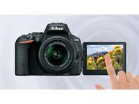 Nikon D5500 DSLR Camera, with Nikkor 18-55mm VR Lens