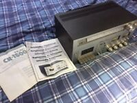 TEAC CR-1500 Cassette Deck/Tape Deck and AM/FM radio