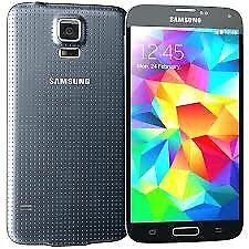 Samsung galaxy s5 in black