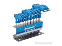 !! BRAND NEW IN STOCK Hex Key T-Handle Set 10pceChrome vanadium. !!