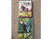 2 x Football skills and tricks DVD's