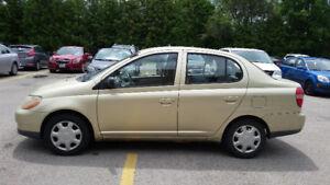 2001 Toyota Echo Sedan