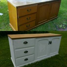 Shabby chic sideboard/cabinet