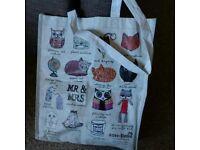 Sass and belle reusable bag