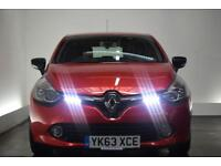 RENAULT CLIO 1.5 DYNAMIQUE MEDIANAV ENERGY DCI S/S 5d 90 BHP (red) 2013