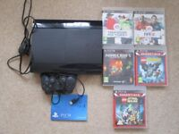 Sony PS3 Playstation package with 5 games