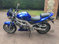 SV 650 K4 with lots of Extras