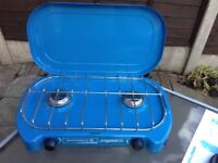 Camping Gaz Lagon double burner gas camping stove