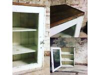 Vintage Pine Medical Cabinet