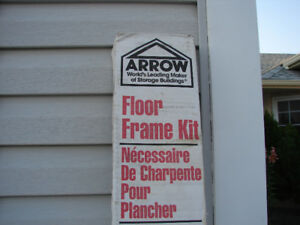 Arrow Floor Shed Frame FB109-A