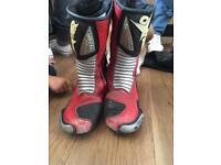 Motorbike bike boots size 10