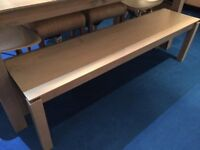 Asha 3-Seater Dining Bench in Grey