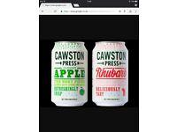 Cawston press apple+rhubarb