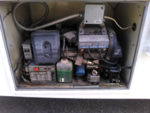 Honda EV6010 on board gen set for rv or camper liquid cooled