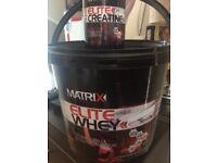 Matrix Elite Whey Protein 2.25kg & Creatine Capsules