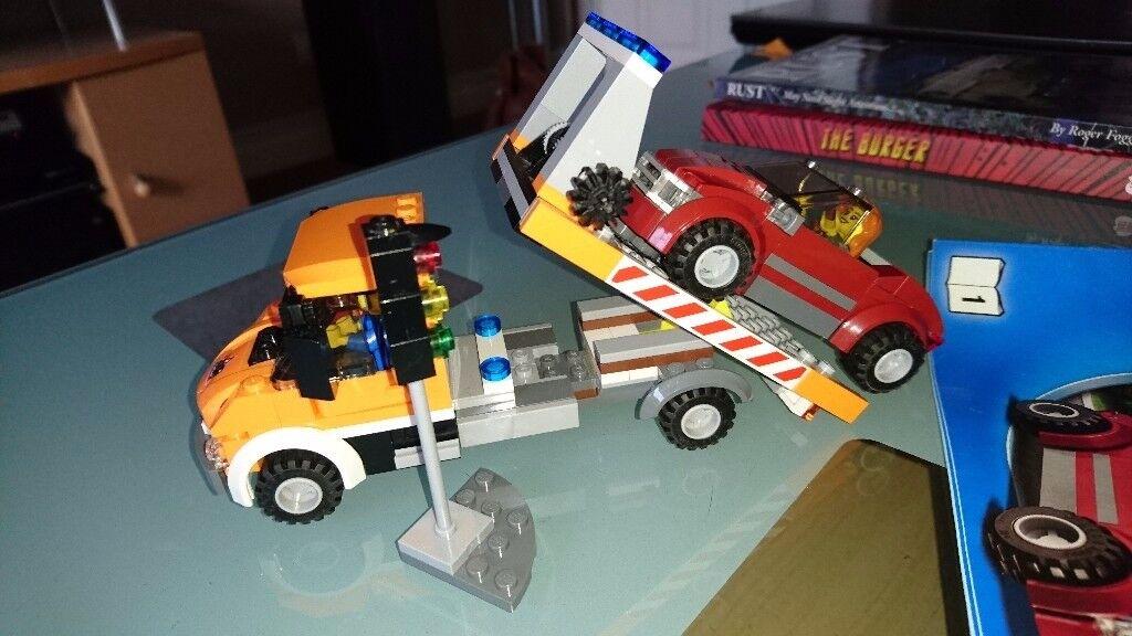 Lego 60017 City Flatbed Truck Car Transporter In Ivybridge Devon