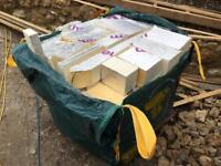 Rigid ecotherm wall / roof insulation