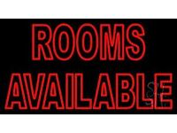 ROOMS AVAILABLE IN ALL LONDON ZONE
