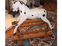 Fabulous Lines Vintage Sportiboy Rocking Horse Un-restored c1930's