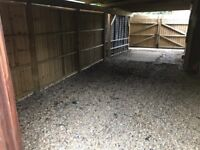 Parking spaces storage space to rent let double gated and sheltered