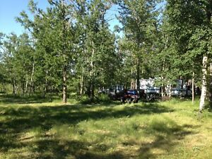 Recreational Acreages lots for Sale at Red Deer Lake, AB