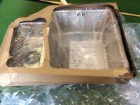 Stainless steel undermounted 1.5 sink