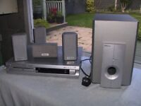 """""""NOW SOLD"""". Hitachi Surround sound system with DVD player"""