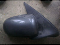 Nissan Almera O/S Wing Mirror In Grey (2004)