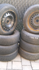 4tires  195 70 14for sunf rims4 tire""