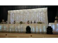 Wedding events backdrop starlight curtain