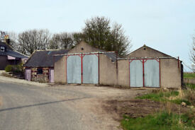 Agricultural steadings (2605 sq ft) set in 0.25 acre with potential for residential development