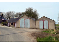 Agricultural steadings (2605 sq ft) set in 0.25 acres with development / self-build potential