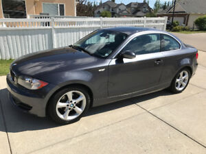 2008 BMW 1-Series Leather Coupe (2 door)