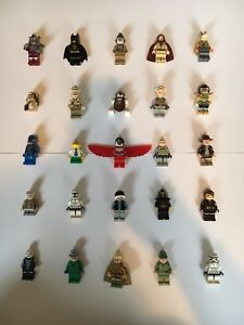 148 lego minifigures starwars harry potter marvel and way more