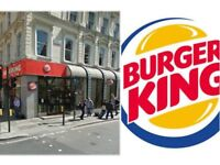 Burger King is looking for cashiers and kitchen staff for several locations