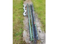 Cast Iron Drain Pipes Reclaimed