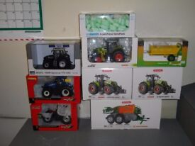 Job lot of 1/32 scale model tractors/ machinery, Wiking, Universal hobbies, Britains