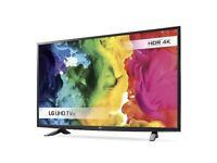 New LG 49inch Ultra HD 4k smart TV