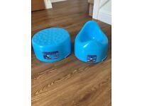 Boys potties/ toilet trainer seats