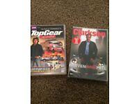 Top Gear & Clarkson dvds (new)