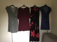 Four dresses size 14 sold as a batch