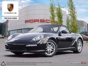 2011 Porsche Boxster Certified Pre-owned   Manual   LOW KMS!