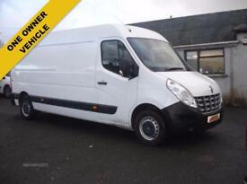 RENAULT MASTER 2.3 LM35 DCI 125 LWB M/ROOF (white) 2014