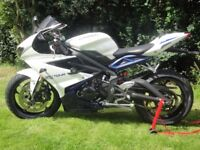 Triumph Daytona 675 2013 with Quickshifter, heated grips & other extras