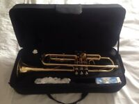 Republic Trumpet new with case and mouth piece