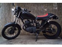 Yamaha 125 sr custom