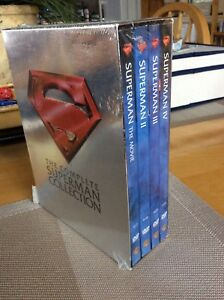 BNIB Complete Superman Collection Collector Series DVD's